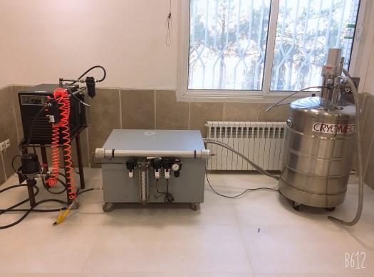 دستگاه تولید نیتروژن مایع